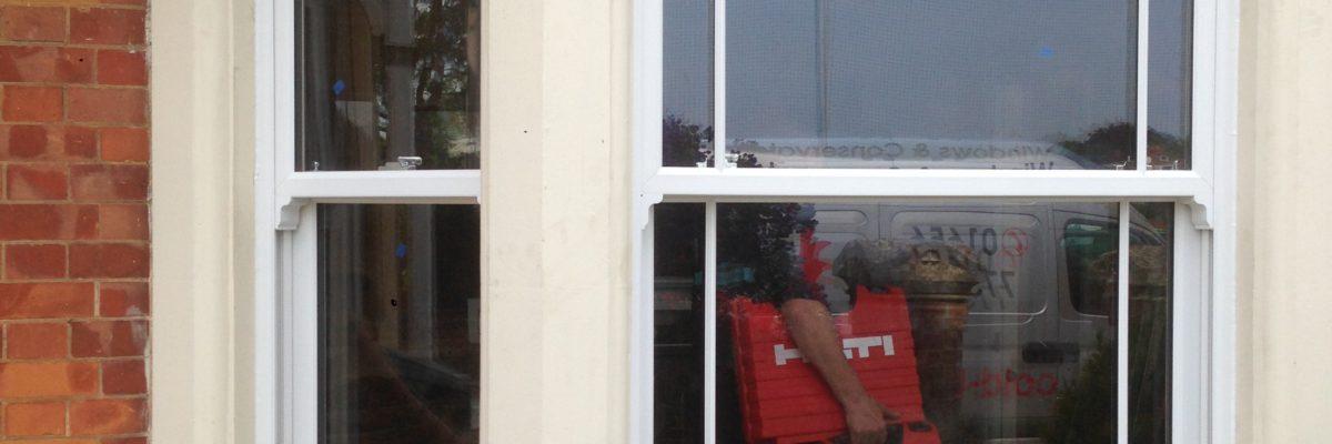 latest sash windows installations